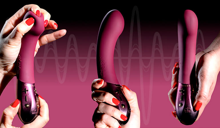 the world's first customisable G-spot vibrator
