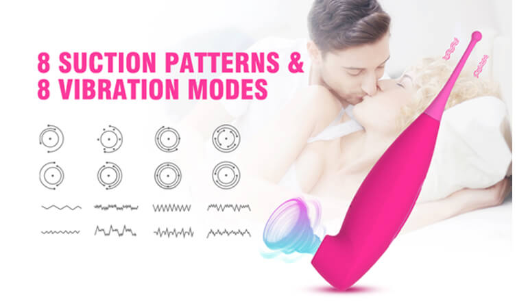 litoral Vibrator with Whirling Vibration,Adult Sex Toys for Women Couples