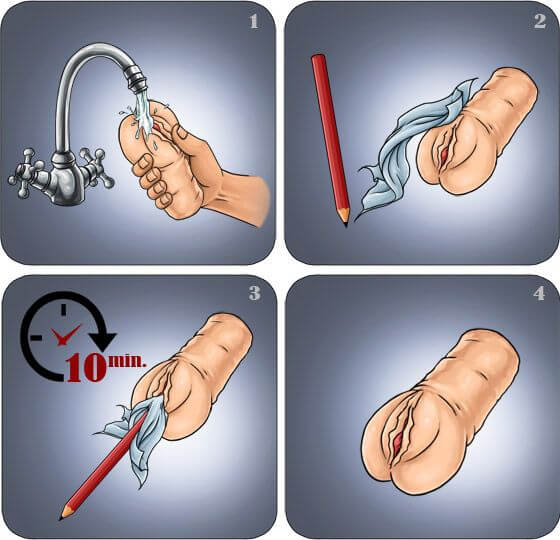 How to clean a Meiki onahole