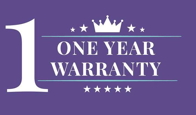 One year warranty - Nu Sensuelle Point Plus