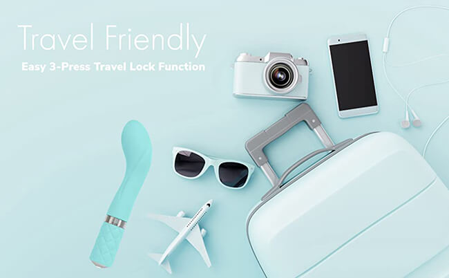 Have Easy 3-Press Travel Lock Function