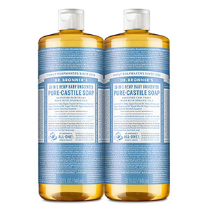 Dr. Bronner's - Pure-Castile Liquid Soap, Made with Organic Oils