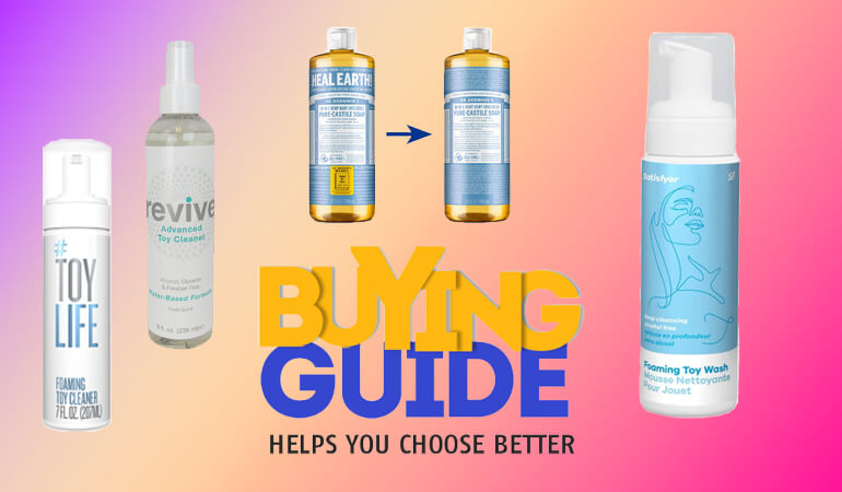 The 5 Best Sex Toy Cleaners - Buyer's Guide